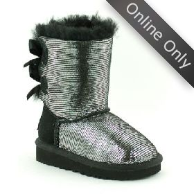 1004795T/BLK UGG BAILEY BOW