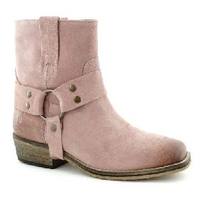 5566/PINK ILC SUEDE BOOT