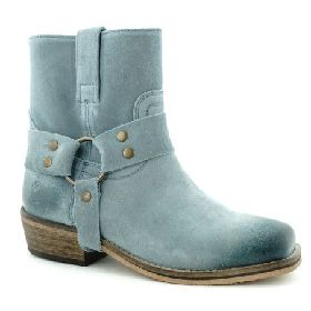 5566/BLUE ILC SUEDE BOOT