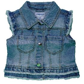 MAYORAL 3322/084 DENIM VEST