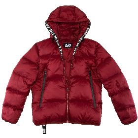 AH6 W20AH6-318/RED DOWN JACKET