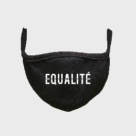 EQUALITÉ FM001/BLK FACE MASK